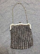 Vintage Antique Purse - Metal and Beaded Mesh