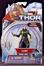 "LOKI ( 4"" ) w/ FROST DAGGER ( THOR : THE DARK WORLD ) MARVEL MOVIE ACTION FIGURE"