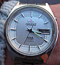 orient AAA crystal 21 jawels automatic watch orologio vintage