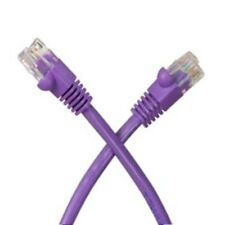 ALL COPPER! 50ft long RJ45 Cat5e Ethernet/Network UTP Cable/Cord/Wire$SH {PURPLE