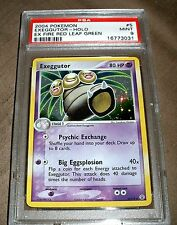 POKEMON EXEGGUTOR HOLO EX FIRE RED LEAF GREEN CARD MINT PSA 9