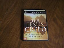 Scot Mcknight The Jesus Creed dvd loving God and loving others only us copy ebay