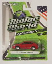 Greenlight 1:64 Motor World 12 - Dodge Dart GT 2013 red Brand new