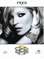 PUBLICITE ADVERTISING 054   2010  FRED  joaillier  KATE MOSS