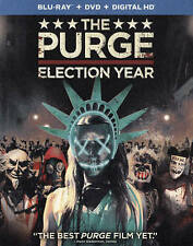 The Purge: Election Year (Blu-ray + DVD + Digital HD) Subtitled, NTSC, Color, Wi