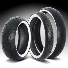 Vee Rubber Motorcycle Monster Front Tire 120/50-26 120 50 26 White Wall Harley