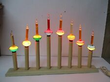 Old 8 Light Christmas Candolier w 8 C-6 Noma BUBBLE LIGHTS #1
