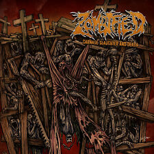 ZOMBIFIED - Carnage Slaughter And Death CD