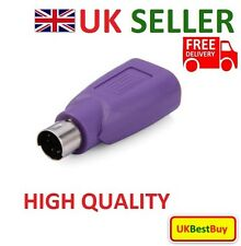 USB PS/2 Male to USB Female Converter Adaptor For Mouse & Keyboard PS2 - NEW