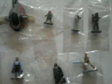 Galoob Star Wars MICRO MACHINES Lot of 7 Figures Miniatures Cloud City Mint Set