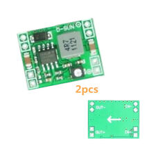 2Stk Mini DC-DC 3A Einstellbar Step down Power Supply Modul Replace LM2596