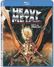 Heavy Metal (Blu-Ray Movie Cartoon Anime Sex Crime and Rock N Roll) Brand NEW