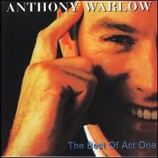ANTHONY WARLOW - THE BEST OF ACT ONE CD ~ PHANTOM OF THE OPERA~CHESS +++ *NEW*