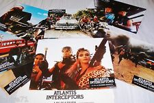 ATLANTIS INTERCEPTOR ! Ruggero Deodato jeu photos cinema lobby cards fantastique