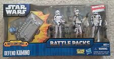 Star Wars the Clone Wars Defend Kamino Battle Pack Arc Trooper Bly Echo Fives