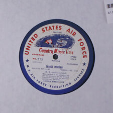 GEORGE MORGAN / CARL SMITH: Country Music Time Radio Show LP Country
