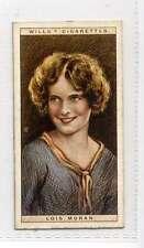 (Ji319-100) Wills, Cinema Stars 2nd ,Lois  Moran ,1928 #17