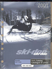 2001 SKI-DOO SKANDIC 500 F / 600 SNOWMOBILE PARTS MANUAL