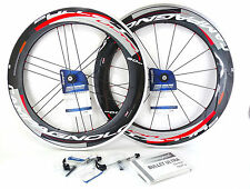 Campagnolo BULLET ULTRA Bright 11 speed wheelset 80mm Clincher USB Ceramic NEW!