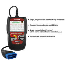 Craftsman Auto Diagnostic Scanning Tool Computer OBD2 Code Reader Erase ABS Code