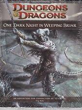 D and D 4th Edition One Dark Night in Weeping Briar  Module ( Game Day 2009 )