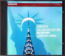 John WILLIAMS & BOSTON POPS America, The Dream Goes On CD Copland Morton Gould