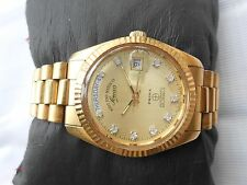 RARE VINTAGE WESTEND GOLDEN DIAL WATCH OYSTER MODEL G PLATED MEN AUTOMATIC WATCH