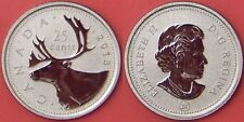 Specimen 2013 Canada 25 Cents From Mint's Set