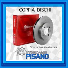 08.9511.11 COPPIA POSTERIORI DISCHI BREMBO VECTRA Mk II (C) 2.2 16V 147CV Z22SE