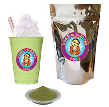 Green Tea Latte Boba/ Bubble Tea Powder Buddha Bubbles Boba Matcha (10 Ounces)