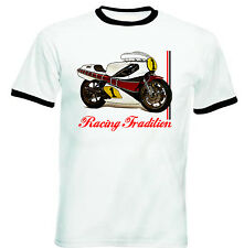 YAMAHA KENNY ROBERTS INSPIRED - NEW COTTON TSHIRT - ALL SIZES IN STOCK