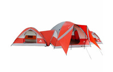 3 Room Tent Camping Tents 10 Person Dome Tents Connect Lightweight And Compact