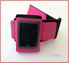 Cool PINK Running Sport Armband for Modu T Micromax Cell Phone Rubber Sportify