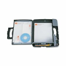 Officemate Portable Clipboard Storage Case Charcoal (83301) NEW FREE SHIPPING