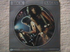 "KISS ""ROCK SAGAS"" INTERVIEW PICTURE DISC FACTORY SEALED U.K. IMPORT CHRIS TETLEY"