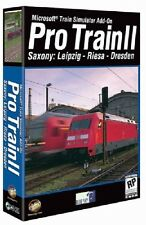 Microsoft Train Simulator Add-On: Pro Train II Saxony: Leipzig - Riesa - Dresden