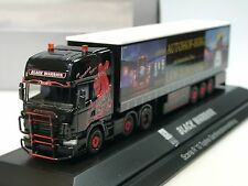 Herpa scania R Black Warrior visillos planear-szg - 921459 - 1/87