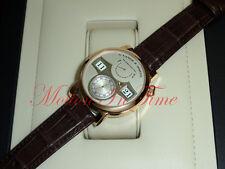 A. Lange & Sohne Lange Zeitwerk 18kt Rose Gold 41.9mm Silver Dial 140.032