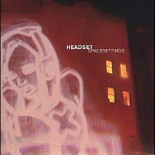 Space Settings Headset MUSIC CD
