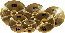 "Meinl Cymbals HCS-SCS ""Super Set"" Matched Cymbal Box Set Pack with Hi-Hat, Ride"