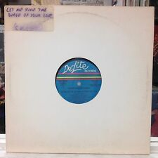 "NM 12""~CROWN HEIGHTS AFFAIR~Let Me Ride On The Wave Of Your Love~[5:44]~PROMO!~"