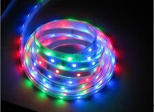 LUCI NATALE TUBO LUMINOSO 600 LED SMD 5050 RGB 10MT MULTICOLOR ESTERNO ADDOBBO!!