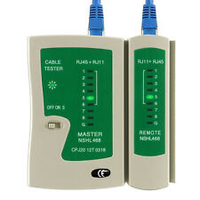 RJ45 /RJ11 Network Lan Cable Tester Wire Line Test Net Work Tool High Speed