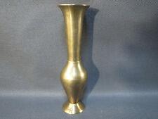 Ancien joli petit vase en laiton soliflore french antique