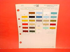 1977 DODGE PICKUP TRUCK RAMCHARGER MOTOR HOME PLYMOUTH TRAIL DUSTER PAINT CHIPS
