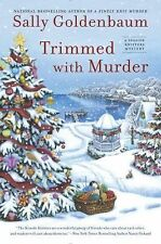 Trimmed with Murder (Seaside Knitters Mystery) Goldenbaum, Sally ~ Free shipping