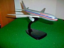 Vintage American Airlines 767 Desk Model on Stand by Air Jet Advance Models