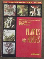 ANCIENNE DOCUMENTATION SCOLAIRE PLANTES SANS FLEURS