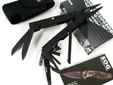 SOG B66N Black POWERASSIST Multi-TOOL PLIERS B66-N New!
