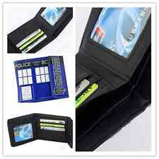 Doctor Who Wallet Tardis Square Wallet Embossed Flap Clutch Purse UK*